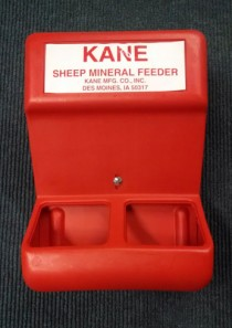 Kane Sheep/Goat Mineral Feeder